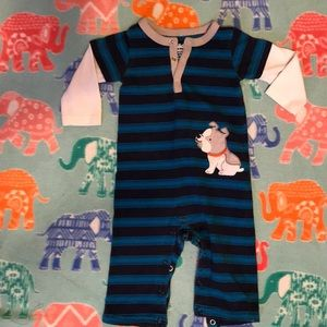 Infant boy one piece outfit